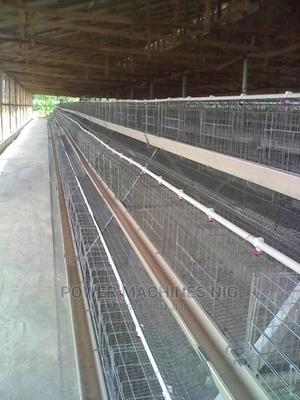 Imported Poultry Cage Electro Galvanized   Farm Machinery & Equipment for sale in Lagos State, Alimosho
