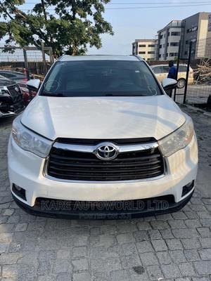 Toyota Highlander 2015 White | Cars for sale in Lagos State, Lekki