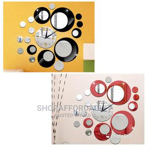 Mid Round Acrylic Wall Clock | Home Accessories for sale in Lagos State, Alimosho