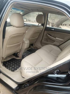 Honda Accord 2005 Sedan LX V6 Automatic Black | Cars for sale in Abuja (FCT) State, Lokogoma
