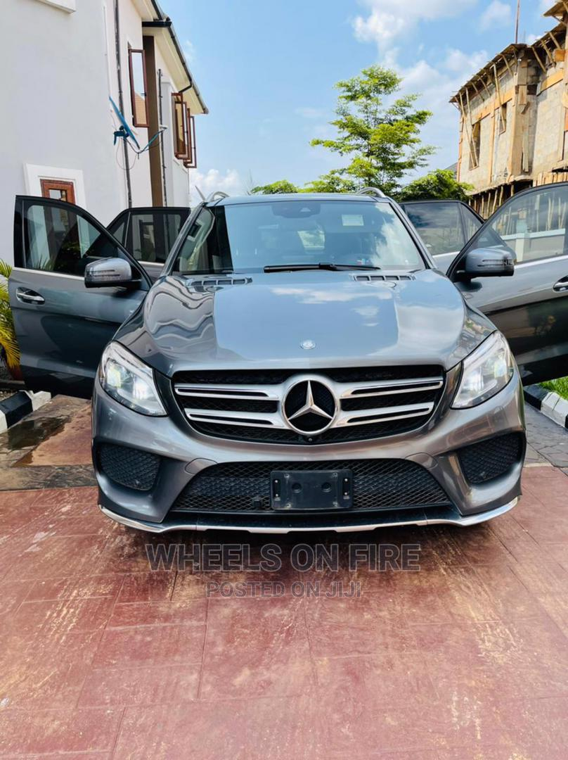 Archive: Mercedes-Benz GLE-Class 2017 Gray