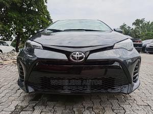 Toyota Corolla 2018 SE (1.8L 4cyl 6M) Black | Cars for sale in Lagos State, Amuwo-Odofin