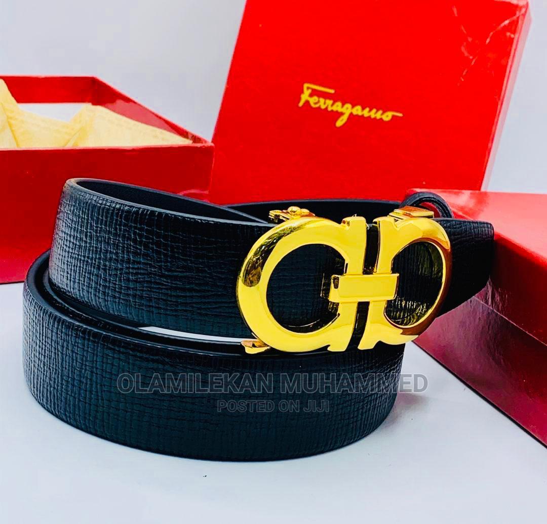 Archive: Salvatore Ferragamo Leather Belt