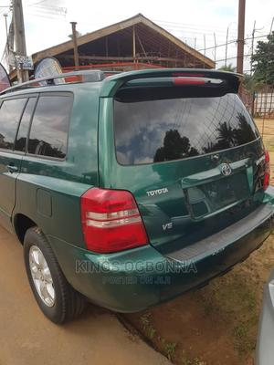 Toyota Highlander 2003 Limited V6 AWD Green   Cars for sale in Anambra State, Nnewi