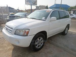 Toyota Highlander 2007 V6 Off White   Cars for sale in Lagos State, Ikeja
