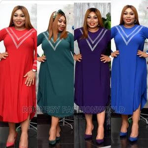 Elegant Classic Female Quality Flare Gown   Clothing for sale in Lagos State, Yaba