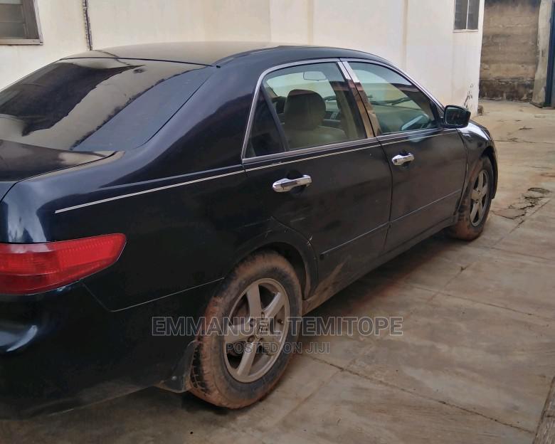 Honda Accord 2005 2.4 Type S Automatic Black   Cars for sale in Ibadan, Oyo State, Nigeria