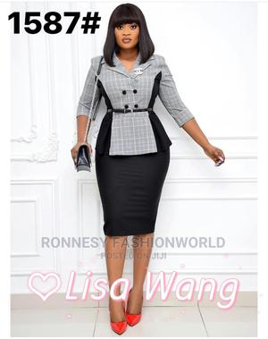 Classic Ladies Fitted Gown   Clothing for sale in Lagos State, Ikeja