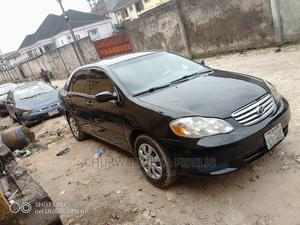Toyota Corolla 2004 Black   Cars for sale in Rivers State, Port-Harcourt
