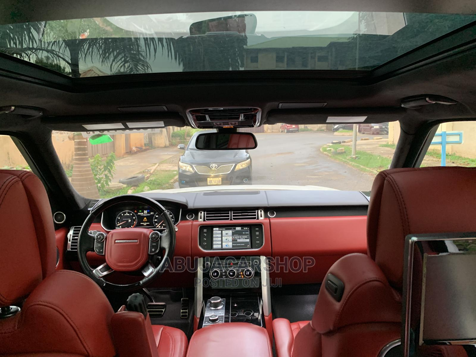 Land Rover Range Rover Vogue 2015 White   Cars for sale in Central Business District, Abuja (FCT) State, Nigeria