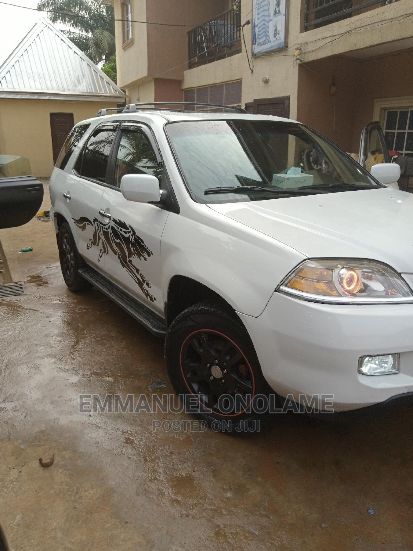 Acura MDX 2005 White
