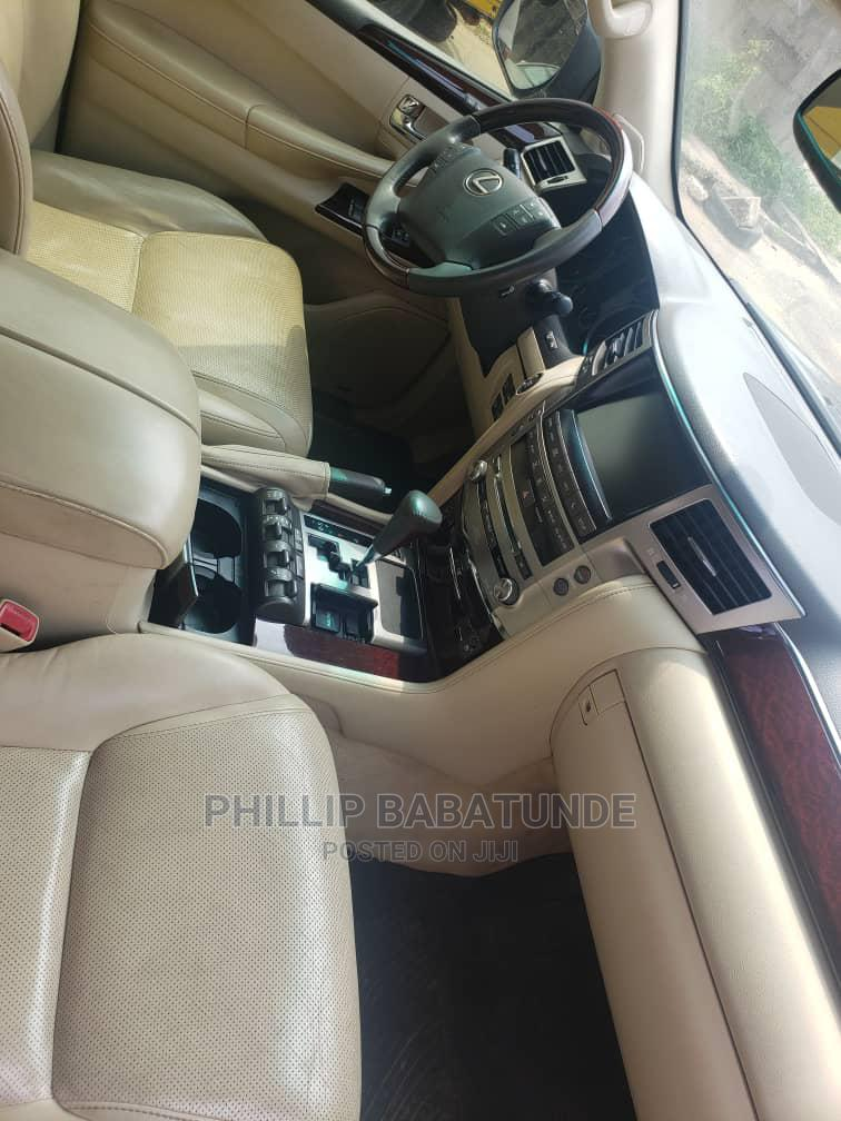 Lexus LX 2015 570 AWD Gray | Cars for sale in Yaba, Lagos State, Nigeria