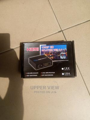 1080p HDMI Splitter 3 Port Hub Box Auto Switch | Accessories & Supplies for Electronics for sale in Lagos State, Oshodi