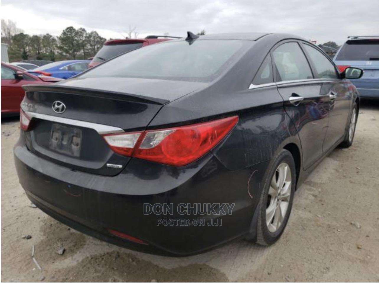 Hyundai Sonata 2013 Black | Cars for sale in Magodo, Lagos State, Nigeria