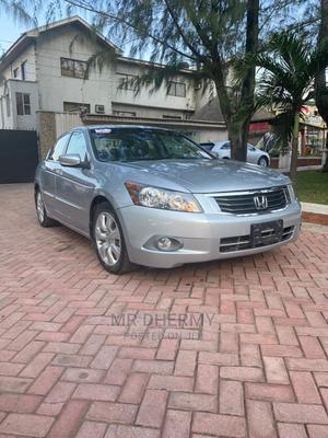 Honda Accord 2008 2.4 EX-L Automatic Silver | Cars for sale in Lagos State, Lekki