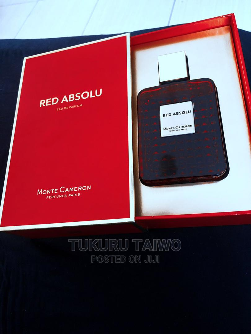 Archive: Monte Cameron Red Absolu Edp 100ml