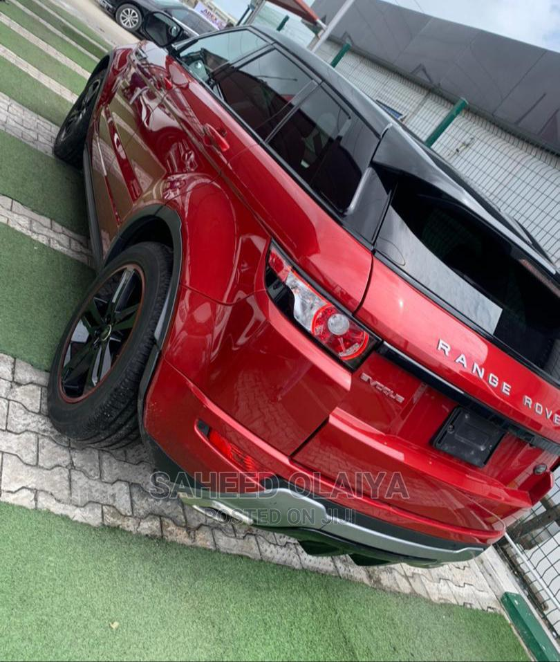 Archive: Land Rover Range Rover Evoque 2013 Pure AWD 5-Door Red