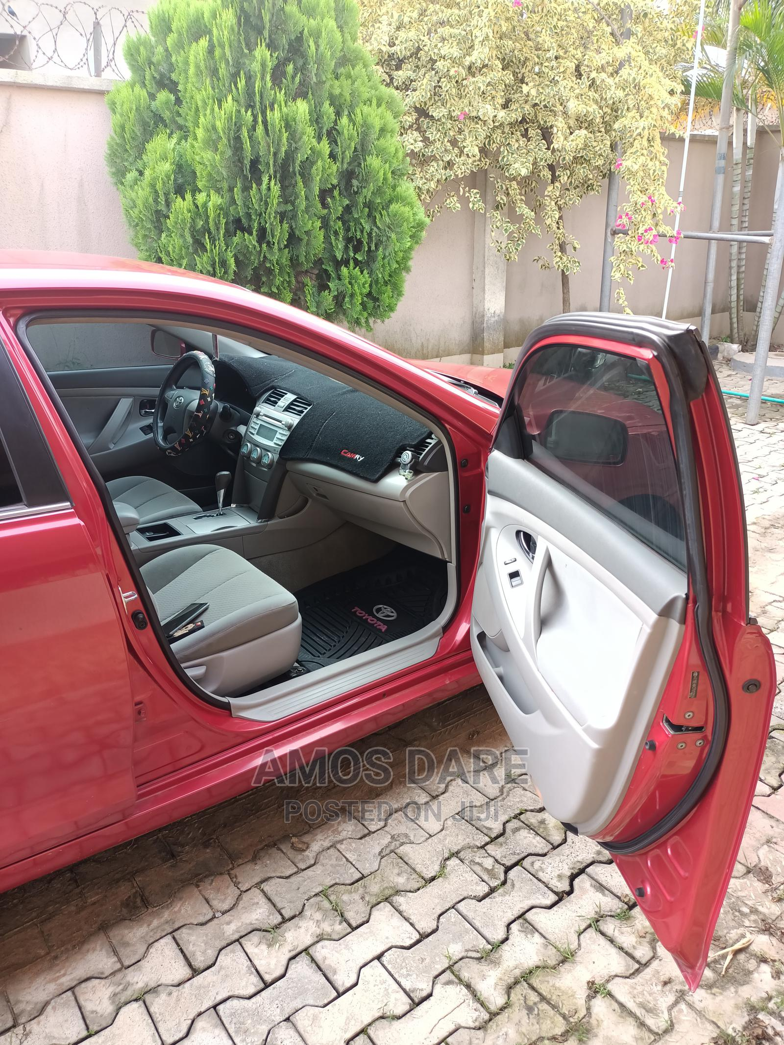 Toyota Camry 2007 Red   Cars for sale in Abeokuta South, Ogun State, Nigeria