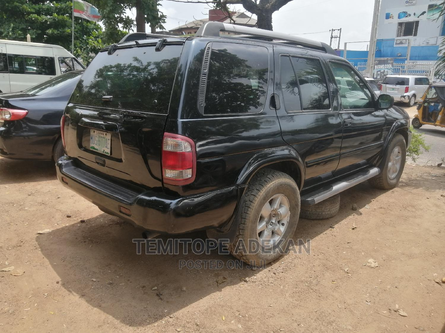 Nissan Pathfinder 2002 LE AWD SUV (3.5L 6cyl 4A) Black   Cars for sale in Ikeja, Lagos State, Nigeria