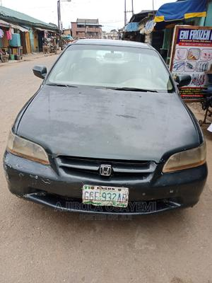 Honda Accord 2000 Coupe Green   Cars for sale in Lagos State, Mushin