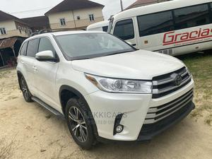 Toyota Highlander 2017 White   Cars for sale in Lagos State, Ajah