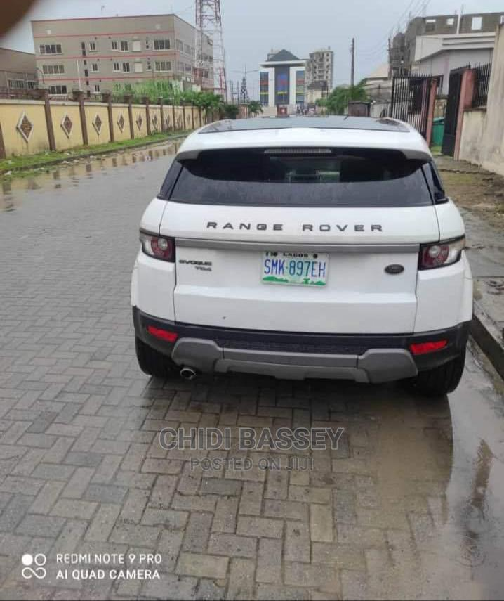 Archive: Land Rover Range Rover Evoque 2013 Pure Plus AWD White