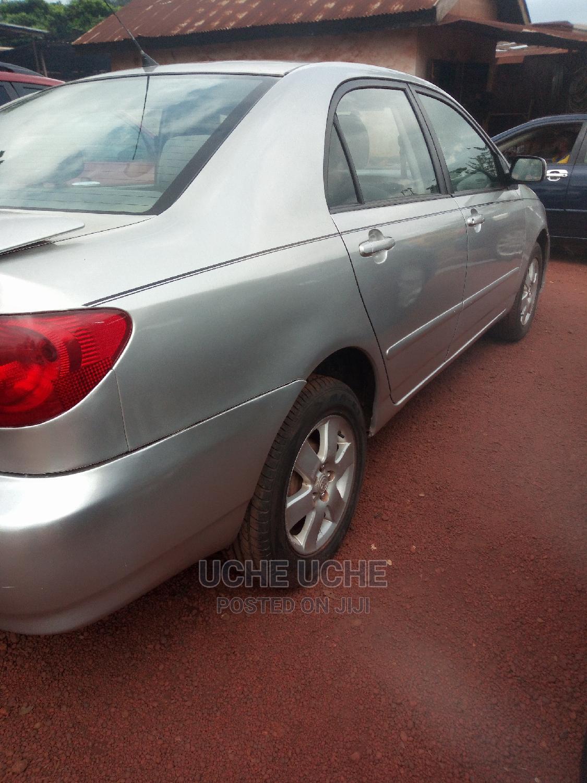 Toyota Corolla 2004 LE Silver   Cars for sale in Nsukka, Enugu State, Nigeria