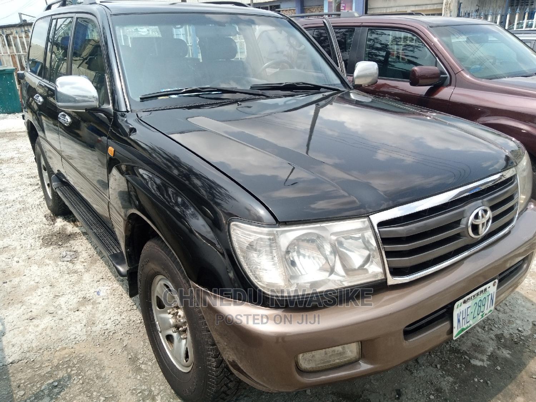 Toyota Land Cruiser 2005 Black