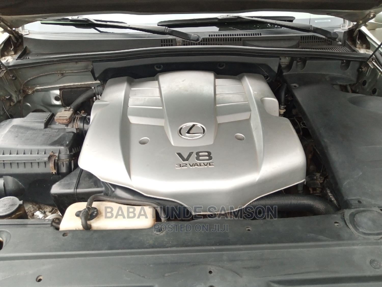 Archive: Lexus GX 2004 470 Silver