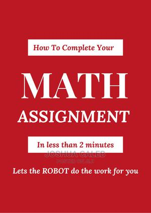 Solve MATH In Less Than 2 Minutes Even You Don't Know How-to | Child Care & Education Services for sale in Plateau State, Jos