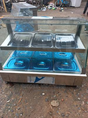 New Quality 3 Plate Food Warmer | Restaurant & Catering Equipment for sale in Lagos State, Ojo