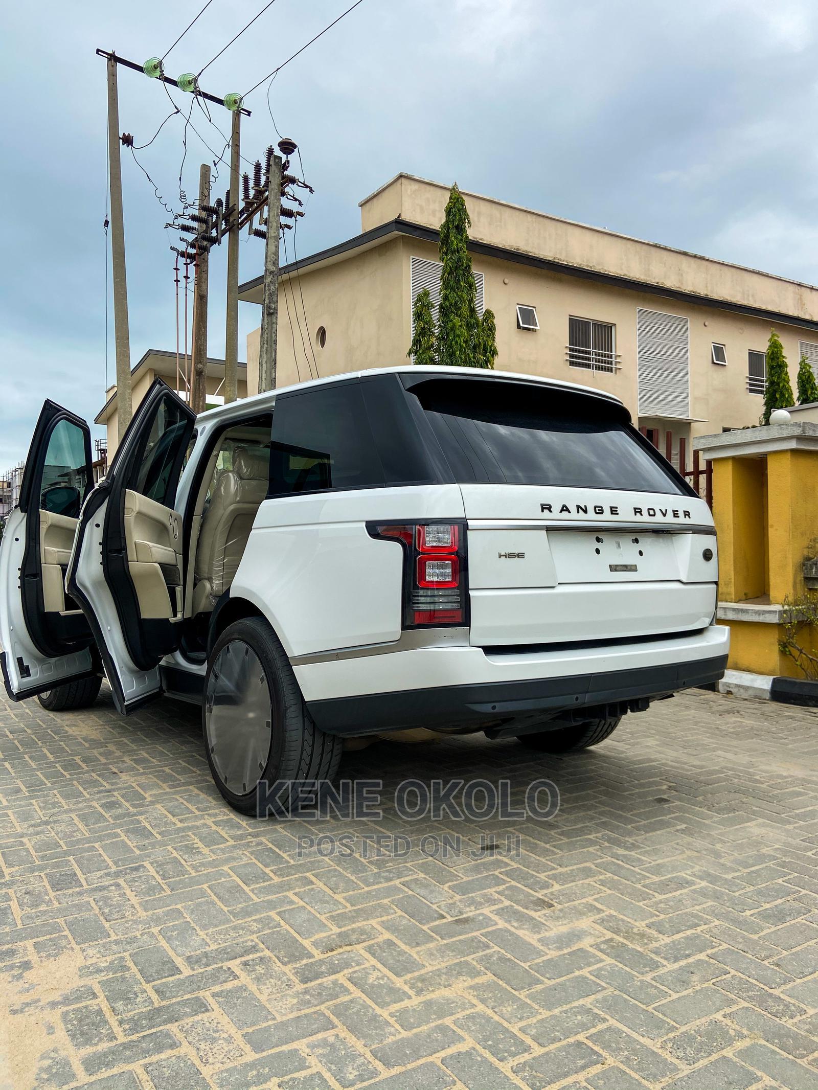 Land Rover Range Rover Vogue 2014 White | Cars for sale in Lekki, Lagos State, Nigeria