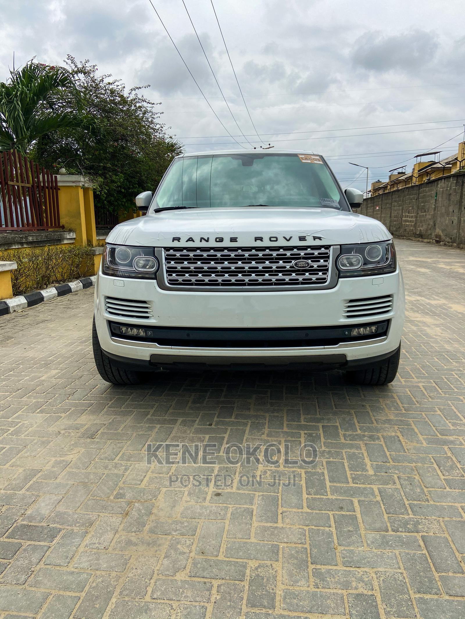 Land Rover Range Rover Vogue 2014 White