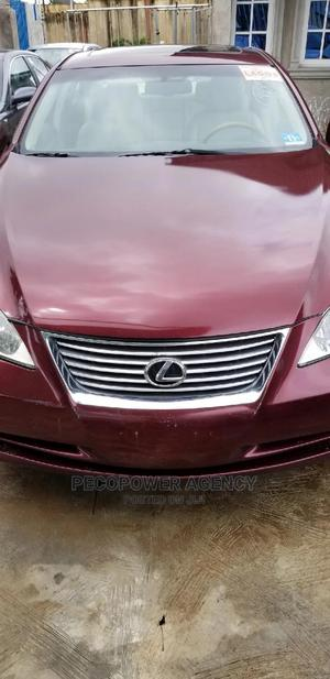 Lexus ES 2007 350 Red | Cars for sale in Lagos State, Alimosho