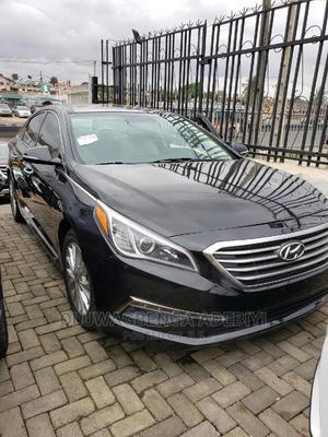 Hyundai Sonata 2015 Black   Cars for sale in Lagos State, Ojodu