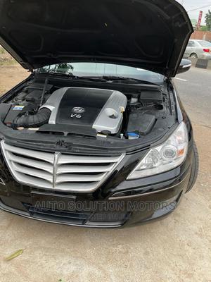 Hyundai Genesis 2012 3.8 Black | Cars for sale in Lagos State, Gbagada