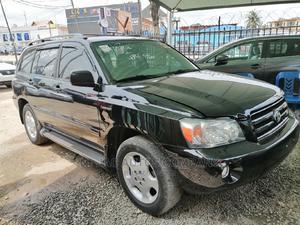 Toyota Highlander 2004 Limited V6 4x4 Black   Cars for sale in Lagos State, Ojodu
