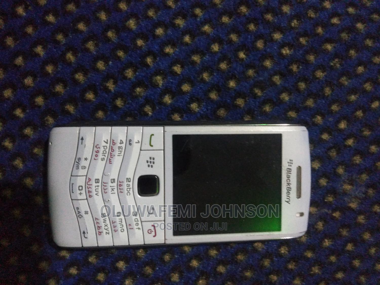 BlackBerry Pearl 3G 9105 White