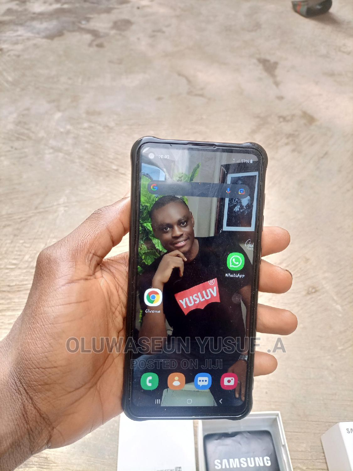 Samsung Galaxy A21s 64 GB Blue   Mobile Phones for sale in Akure, Ondo State, Nigeria