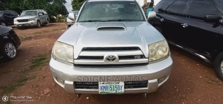 Toyota 4-Runner 2003 4.7 Silver