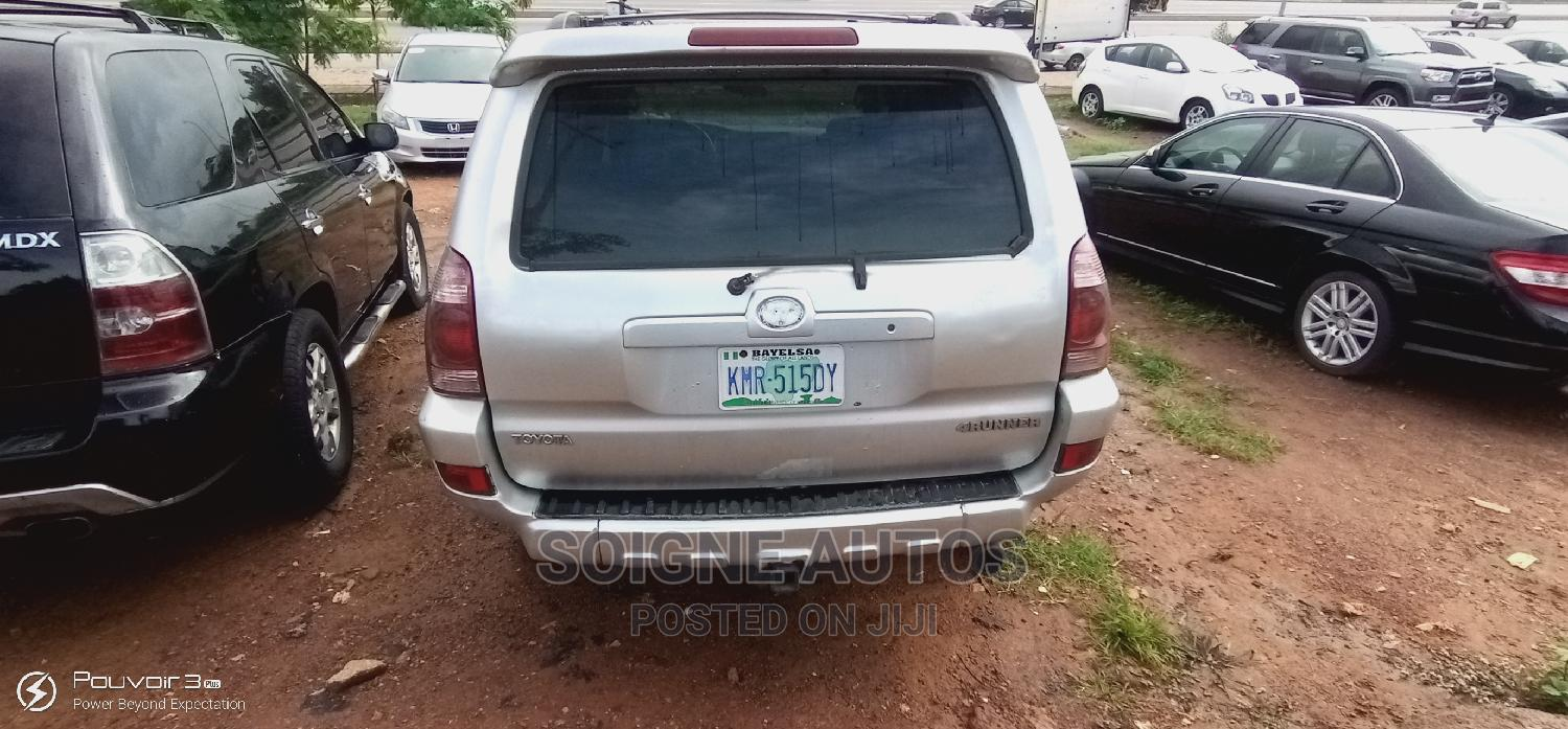 Toyota 4-Runner 2003 4.7 Silver | Cars for sale in Kubwa, Abuja (FCT) State, Nigeria