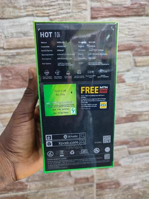 New Infinix Hot 10i 128 GB Black | Mobile Phones for sale in Lagos State, Victoria Island