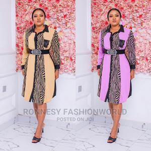 Elegant New Female Quality Shirt Dress   Clothing for sale in Lagos State, Ikeja
