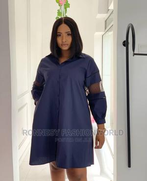 Elegant Classic Trendy Female Quality Flare Shirt Dress   Clothing for sale in Lagos State, Ikeja