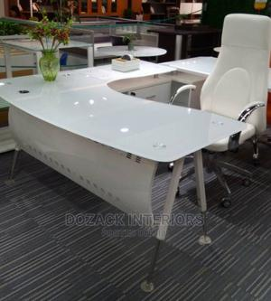 Office Table White   Furniture for sale in Lagos State, Ojo