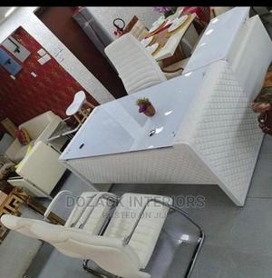 Beautiful White Office Table   Furniture for sale in Lagos State, Ojo