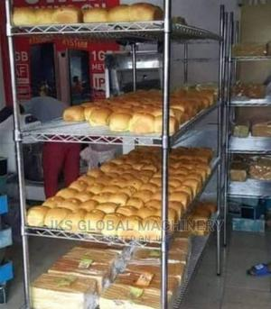 5ft Standard Quality Steel Bread Rack | Restaurant & Catering Equipment for sale in Lagos State, Ojo