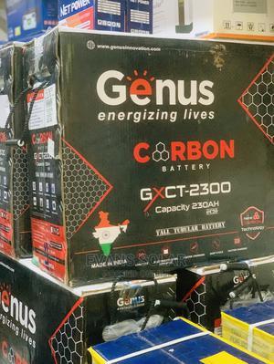 Genus CARBON Battery 230ah 12v   Solar Energy for sale in Lagos State, Ojo