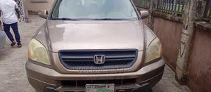 Honda Pilot 2005 EX 4x4 (3.5L 6cyl 5A) Brown | Cars for sale in Delta State, Warri