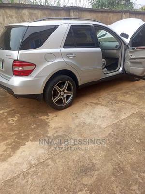 Mercedes-Benz M Class 2007 ML 350 4Matic Silver | Cars for sale in Enugu State, Enugu